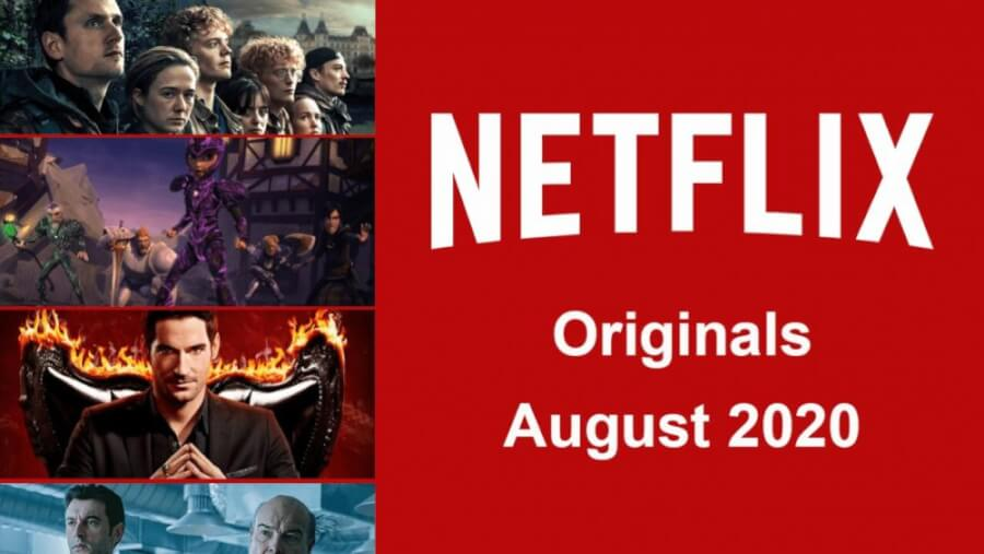 netflix originals august 2020