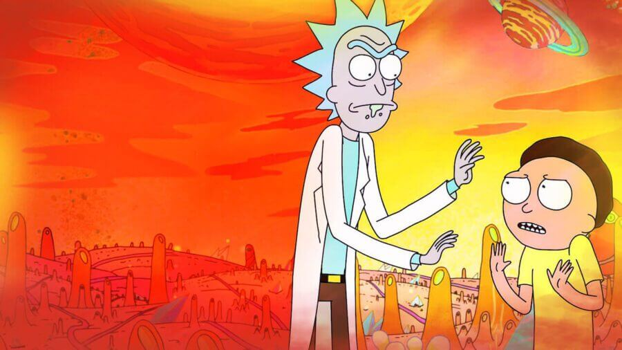 rick and morty season 4b netflix release schedule
