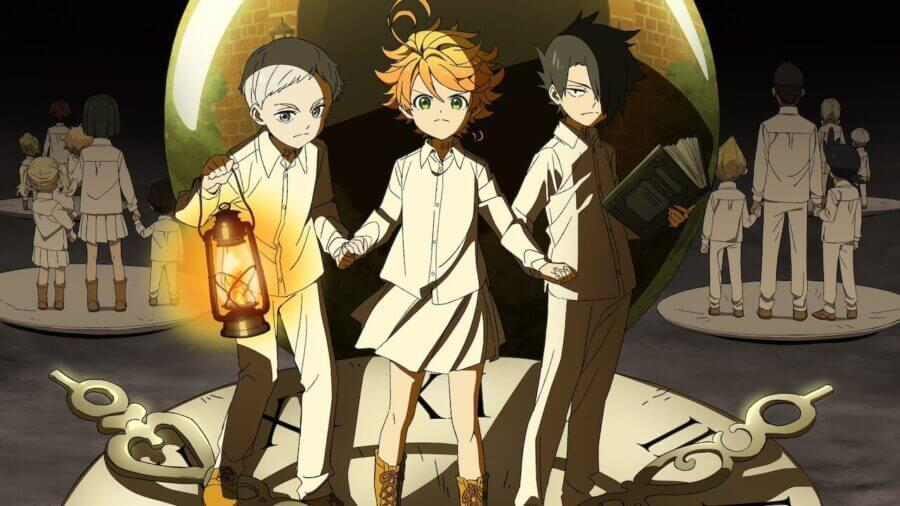 The Promised Neverland is coming to netflix in september 2020
