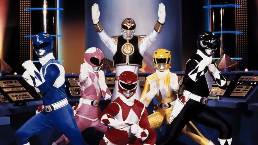 every power rangers series on netflix power rangers mighty morphin