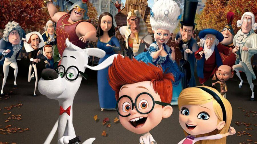 mr peabody and sherman new on netflix august 12th