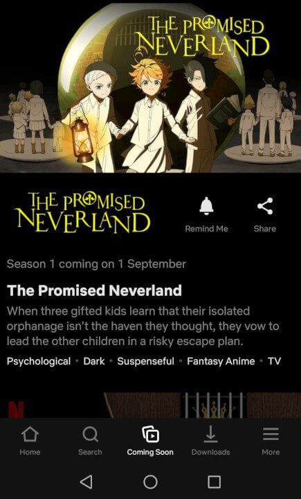 the promised neverland coming soon