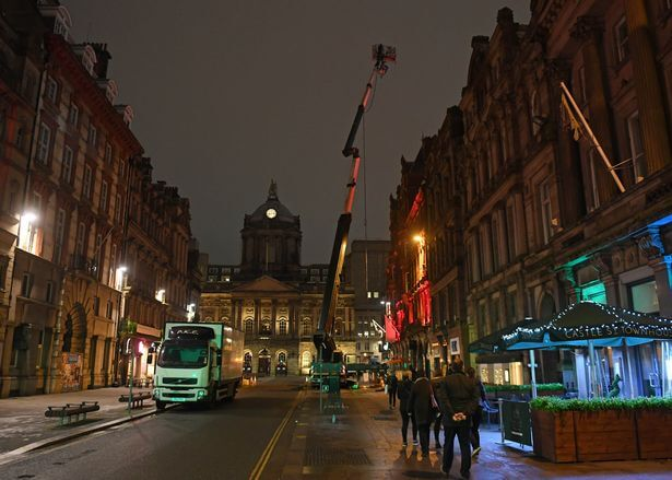 0 Filming props in Liverpool for Netflix series The Irregulars Photo by Colin Lane