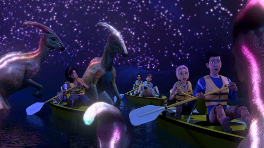 Jurassic Park Camp Cretaceous season 2 netflix 1