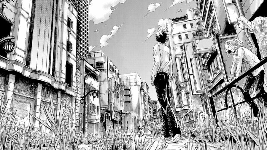 alice in borderland season 1 netflix november 2020 release date manga panel