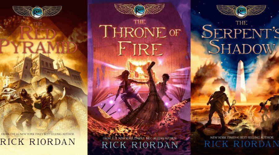 netfli to adapt rick riordans kane chronicles into films books