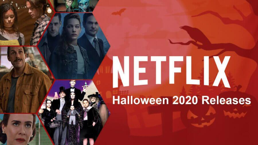 Whats Playing On Tvs In Halloween 2020 What's Coming to Netflix for Halloween 2020   What's on Netflix