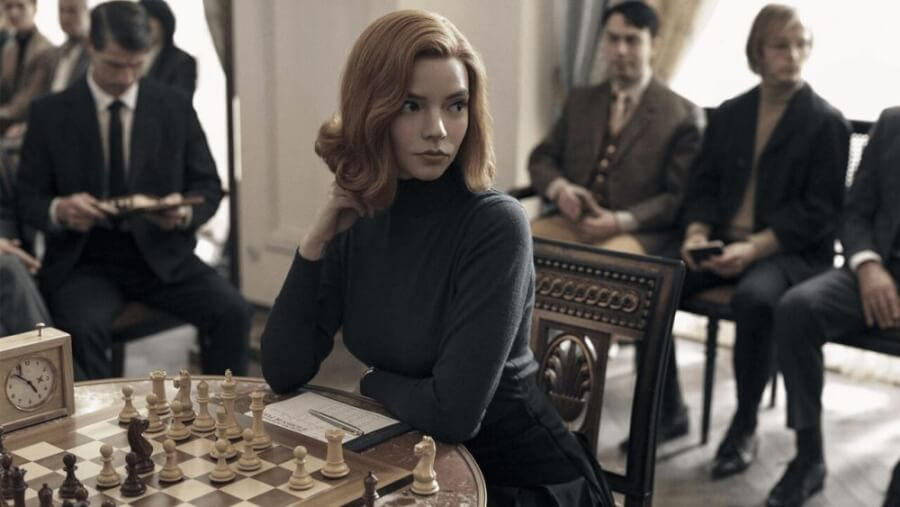 netflix limited series the queens gambit coming in october 2020