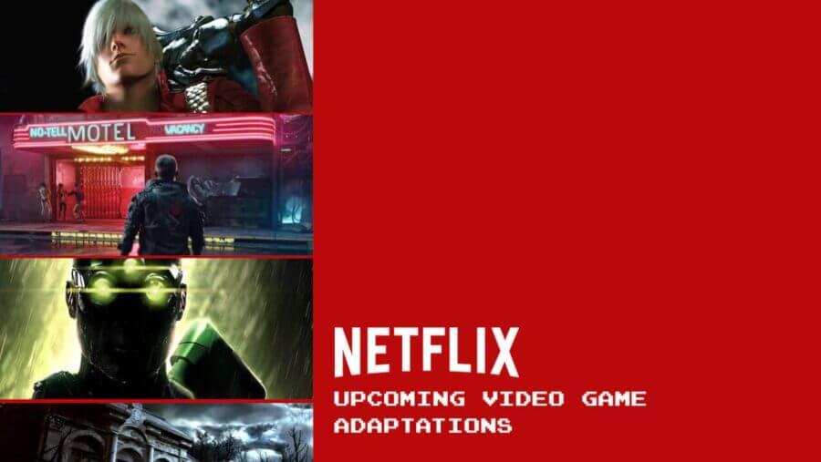 próximas adaptaciones de videojuegos de netflix