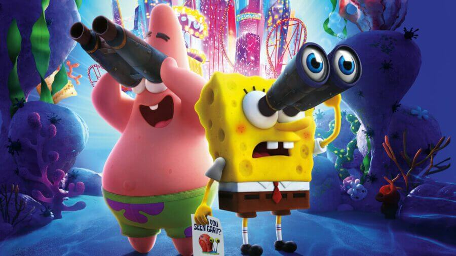 spongebob movie sponge on the run arrive sur Netflix en novembre 2020