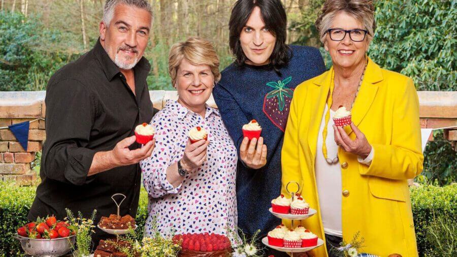 the great british baking show weekly episodes netflix us