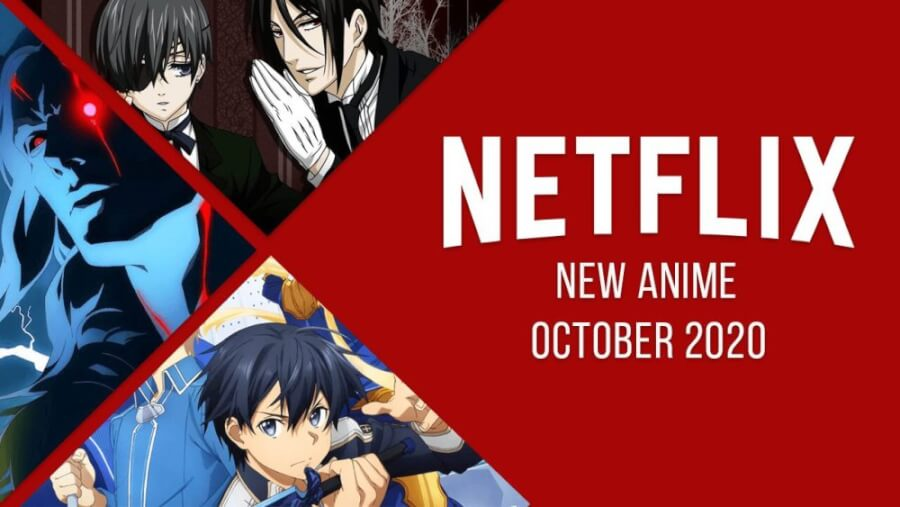 anime coming to netflix in October 2020