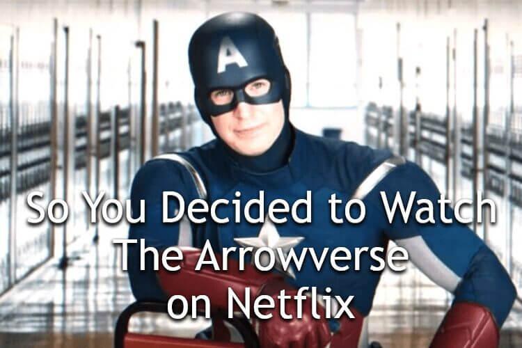 arrowverse meme
