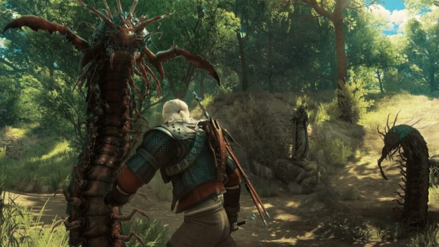 concept new monster the witcher