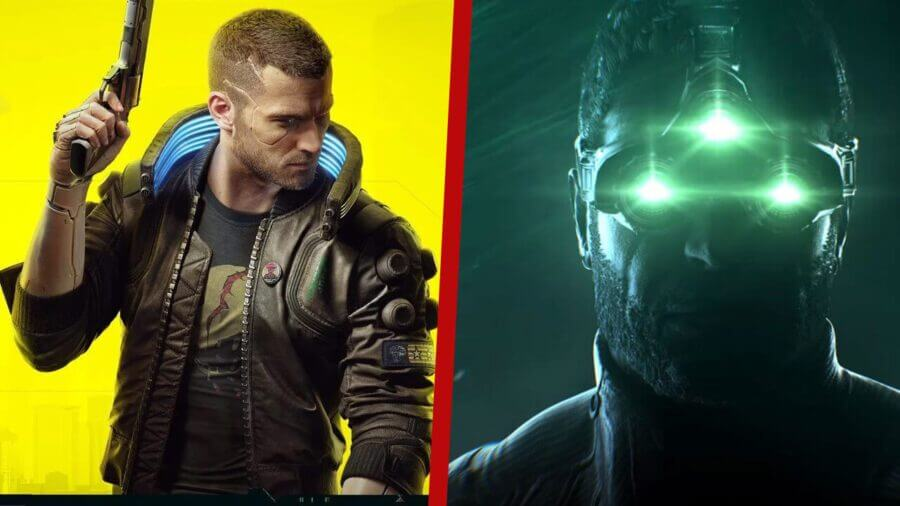 cyberpunk splinter cell getting live action adapations at netflix