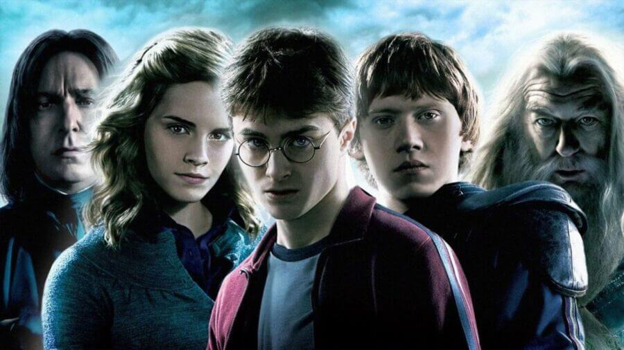 harry potter netflix november 1st 2020