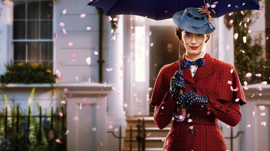mary poppins returns leaving netflix january 2021