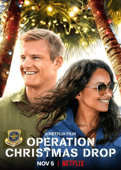 netflix holiday rom com operation christmas drop everything we know so far poster