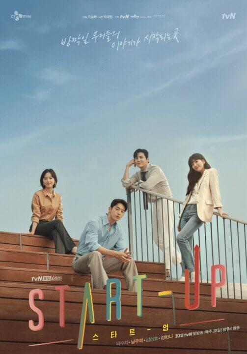 netflix k drama start up season 1 netflix release date plot cast trailer poster