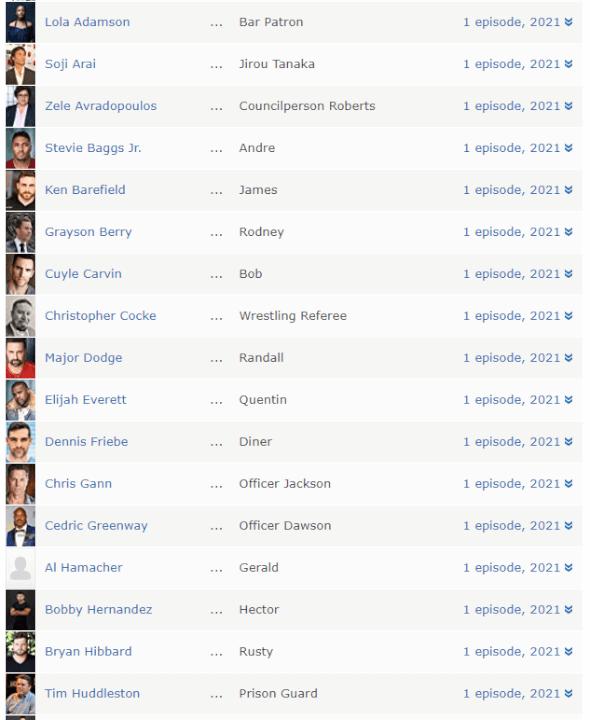 nuevos miembros del elenco de la temporada 3 de cobra kai