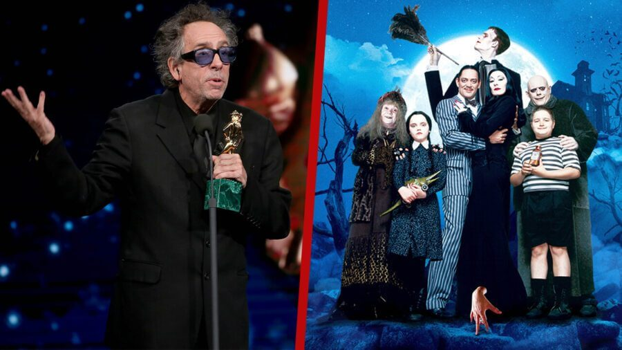 the addams family tim burton series reportedly coming to netflix