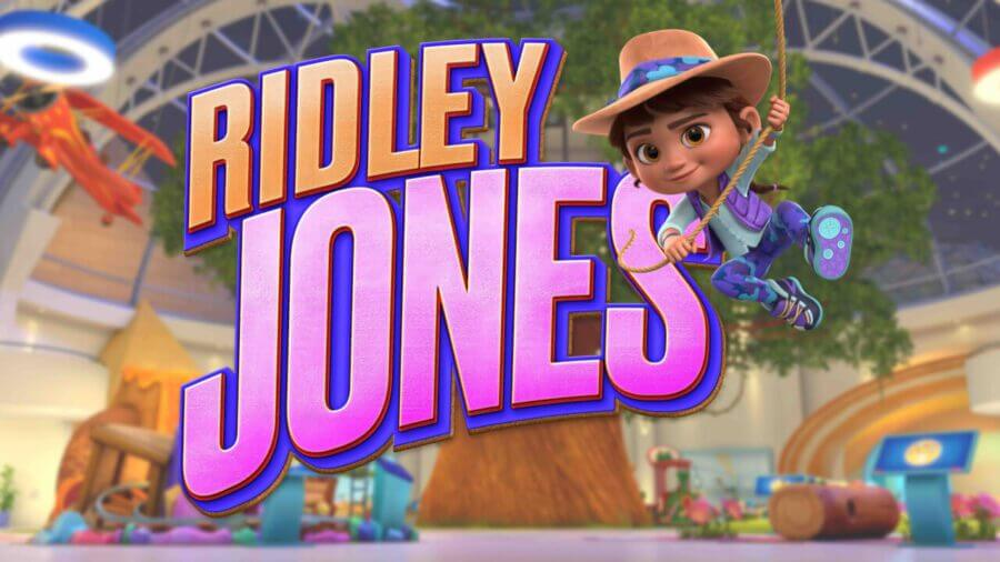 Ridley Jones Logo and Artwork
