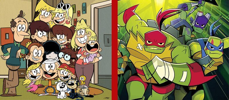 nickelodeon the loud house rise of teenage mutant ninja turtles