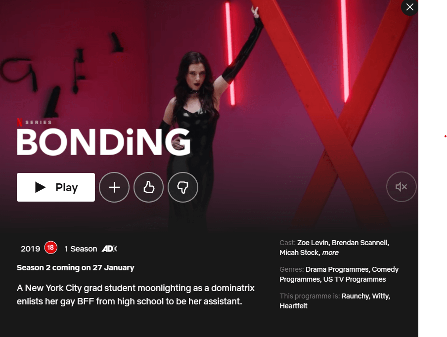 release date for bonding season 2 netflix