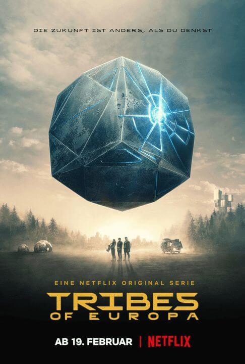 sci fi original tribes of europe season 1 official netflix poster