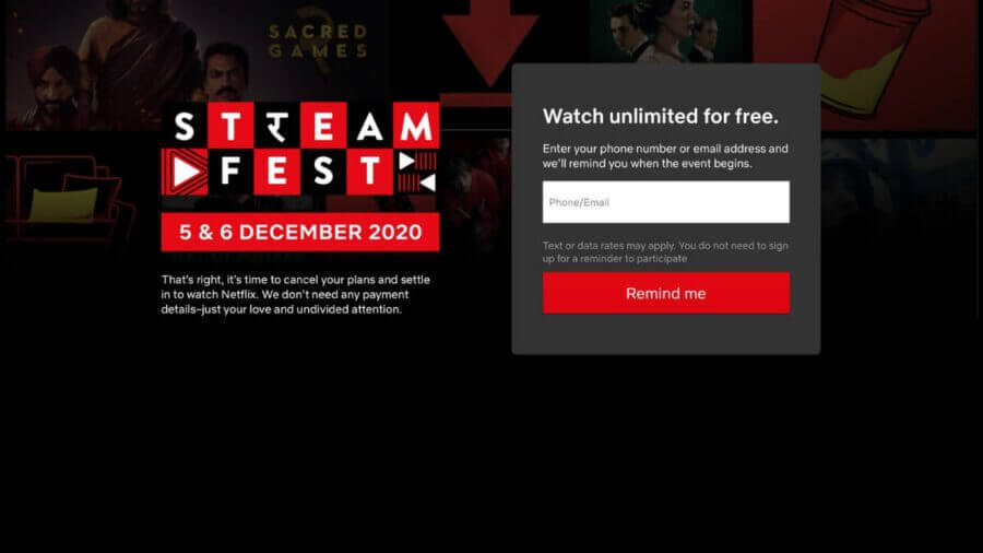 streamfest successful on netflix india