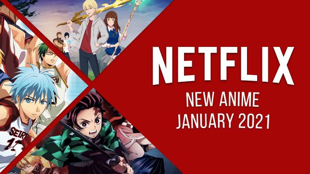 New Anime on Netflix in January 2021 Article Teaser Photo