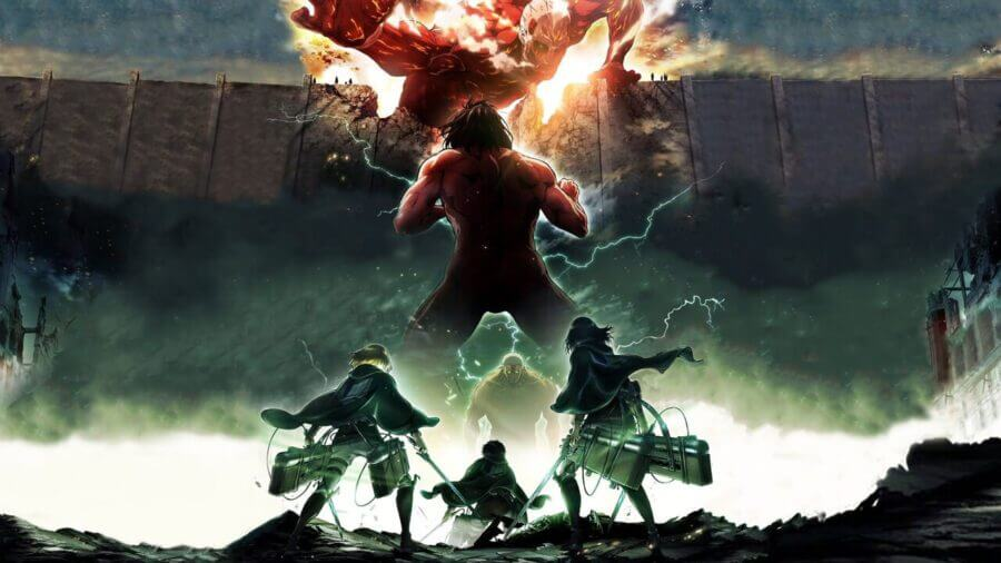 'Attack on Titan' Leaving Netflix UK, US & CA in February 2021 - What's on Netflix
