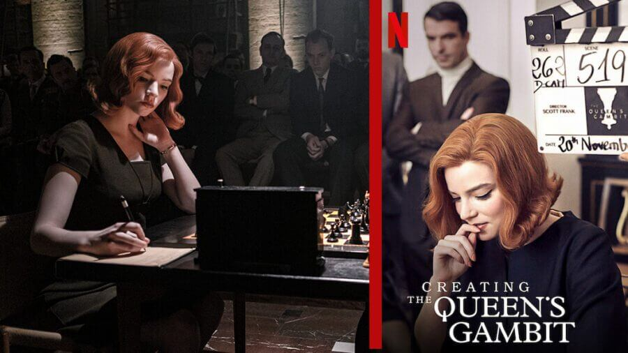 creating the queens gambit new on netflix