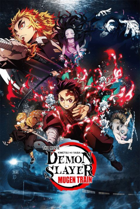 demon slayer kimetsu no yaiba season 1 coming to netflix the movie poster