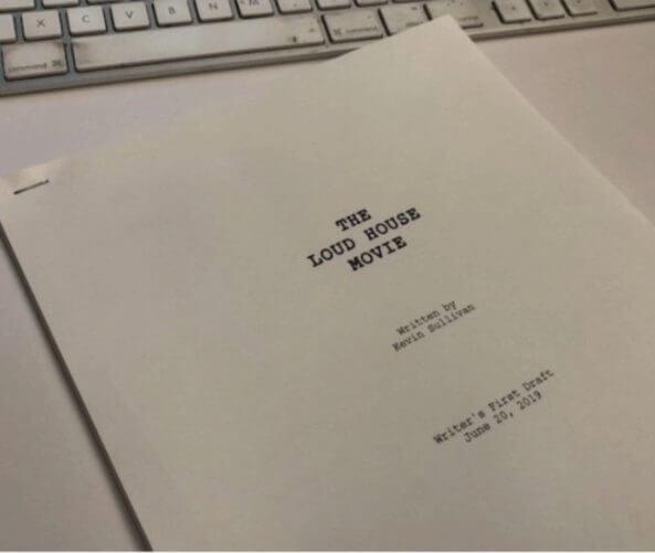 the loud house movie script