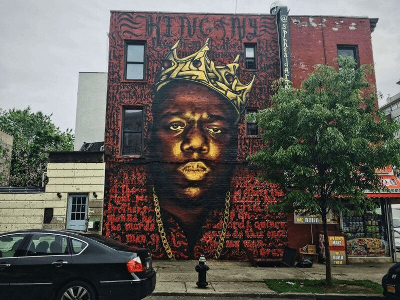 biggie I got a story to tell coming to netflix in march 2021 biggie mural