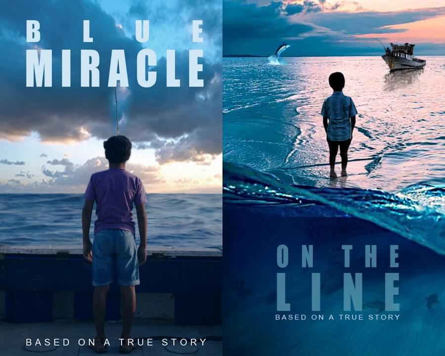 milagro azul pósters