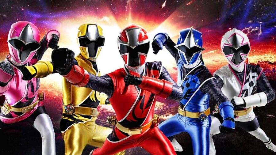 power rangers library departs netflix