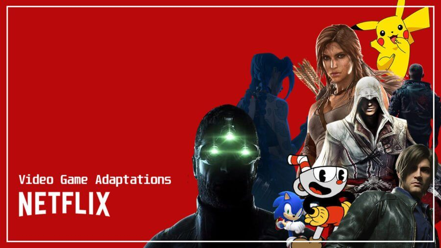 video game adaptations coming to netflix