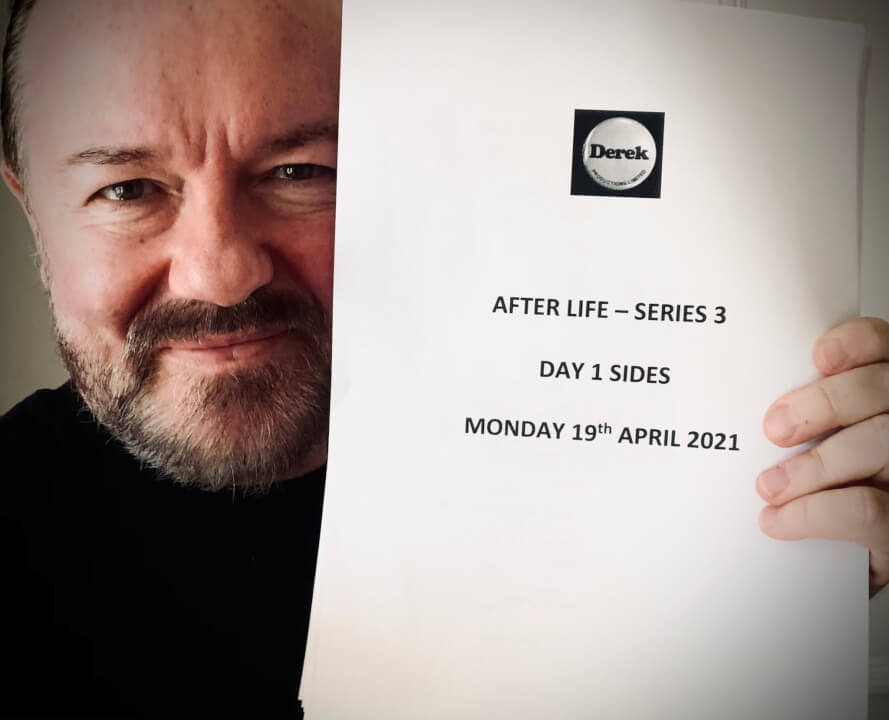 after life series 3 production notes april 2021
