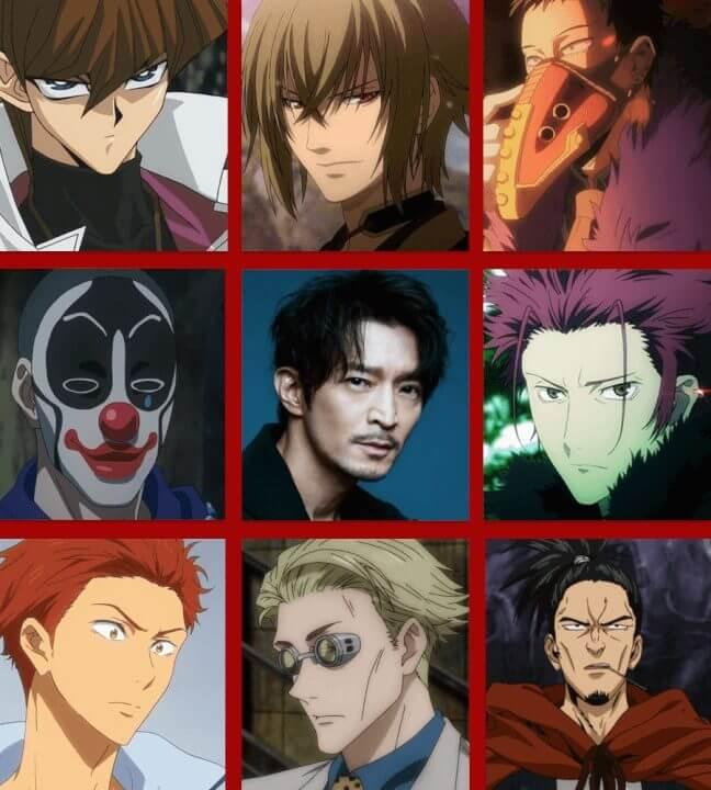 kenjiro tsuda anime voices