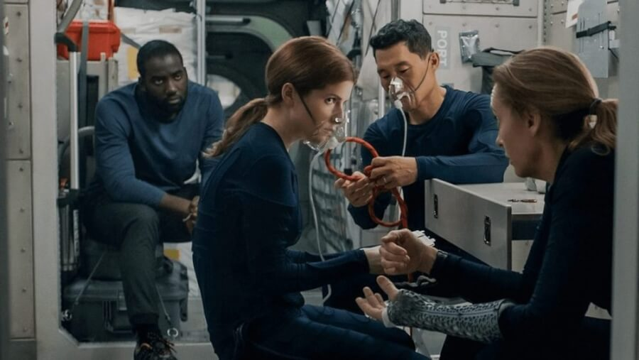 sci fi thriller STOWAWAY is coming to netflix in april 2021