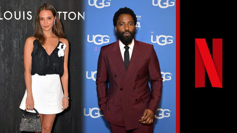 beckett netflix alicia vikander john david washington