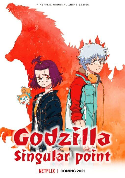 godzilla singular point season 1 coming to netflix in june 2021 poster