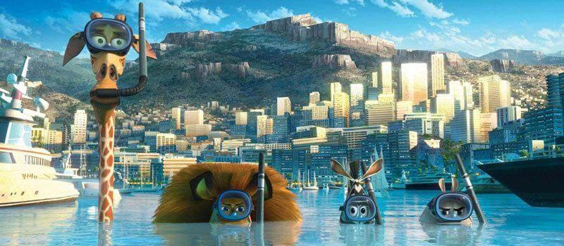 Madagaskar 3 Netflix