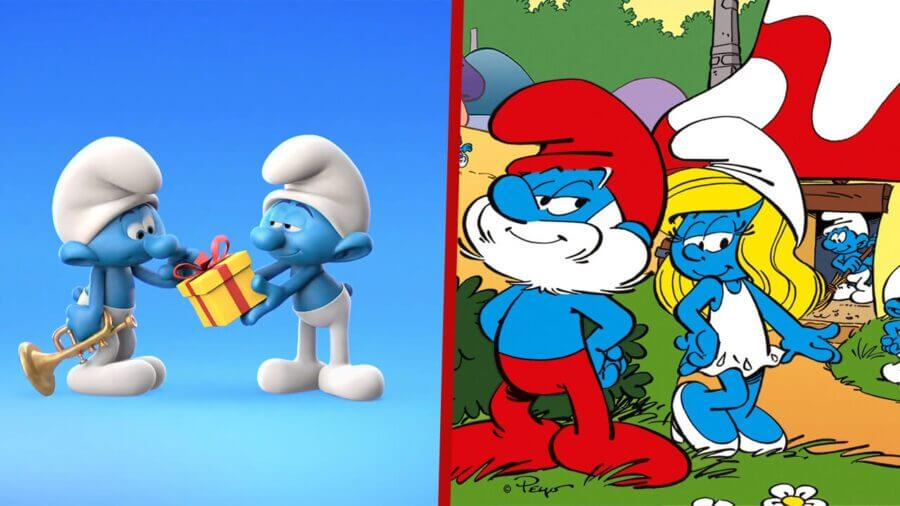 new smurfs and classic smurfs series coming to netflix