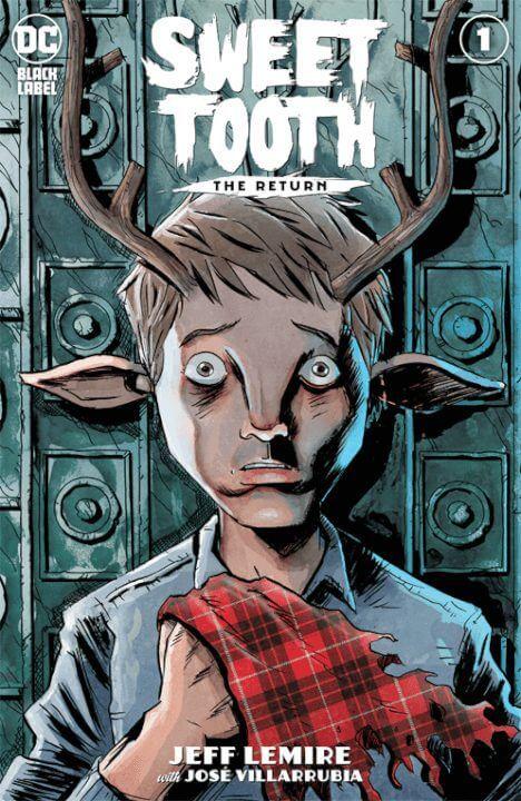 sweet tooth season 1 netflix dc comics cover