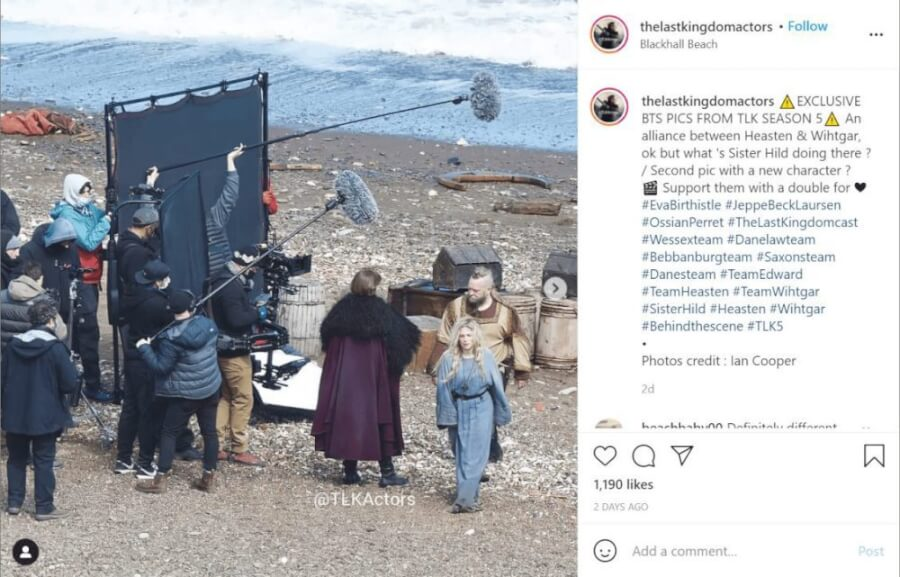 the last kingdom season 5 netflix everything we know so far set photo instagram 2