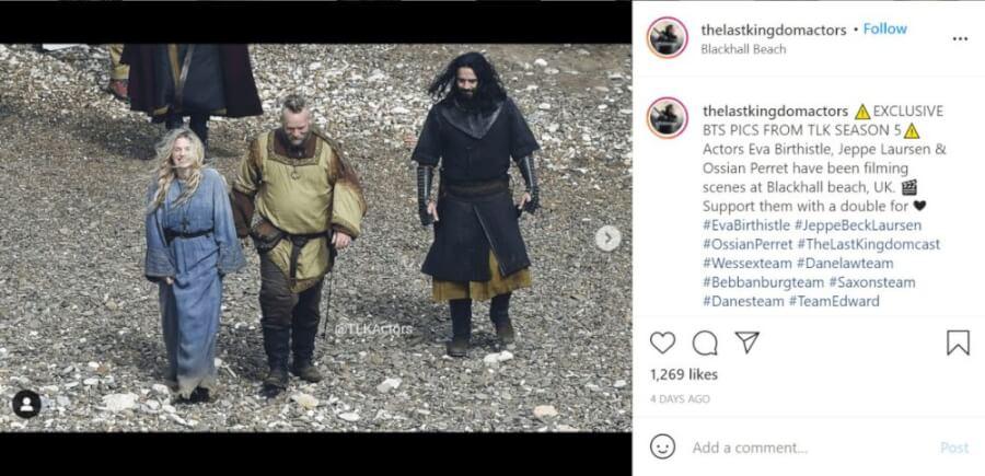 the last kingdom season 5 netflix everything we know so far set photo instagram