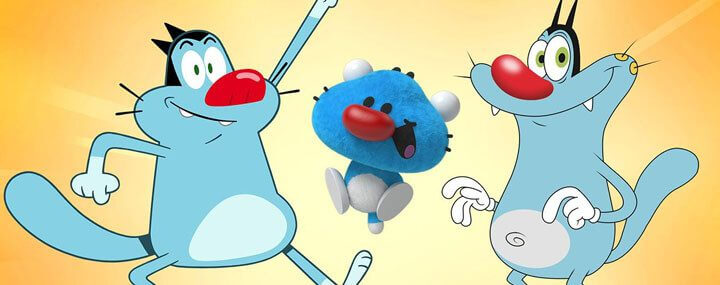 the new adventures of oggy netflix
